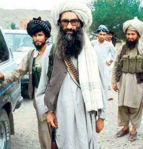 Джелалуддин Хаккани, террорист, агент ЦРУ, друг Бен Ладена, член правительства Талибана