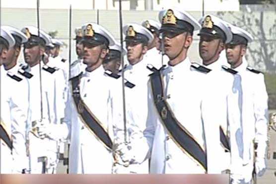 Passing-out parade of Pakistan Navy held in Karachi - SUCH TV