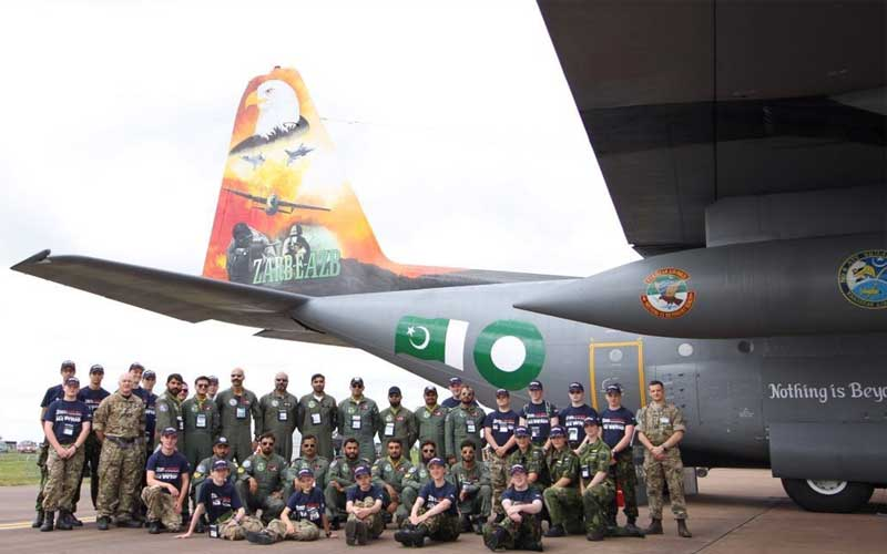 Pakistan Air Force wins international award SUCH TV
