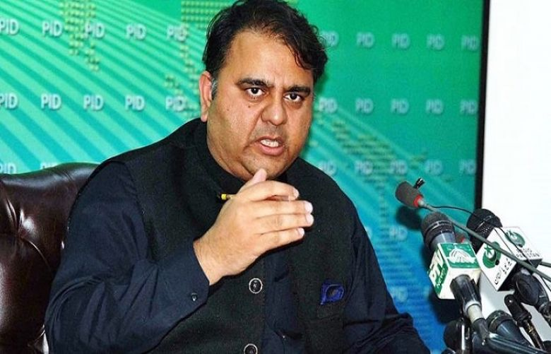 Minister for Science and Technology Fawad Chaudhry