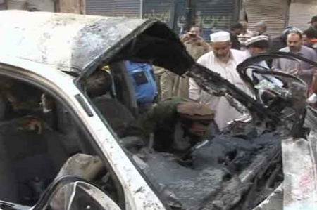 SP among four killed in Qisa Khwani Bazaar blast
