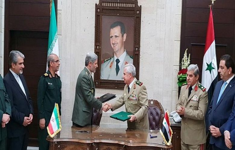 Iran, Syria sign agreement on military cooperation