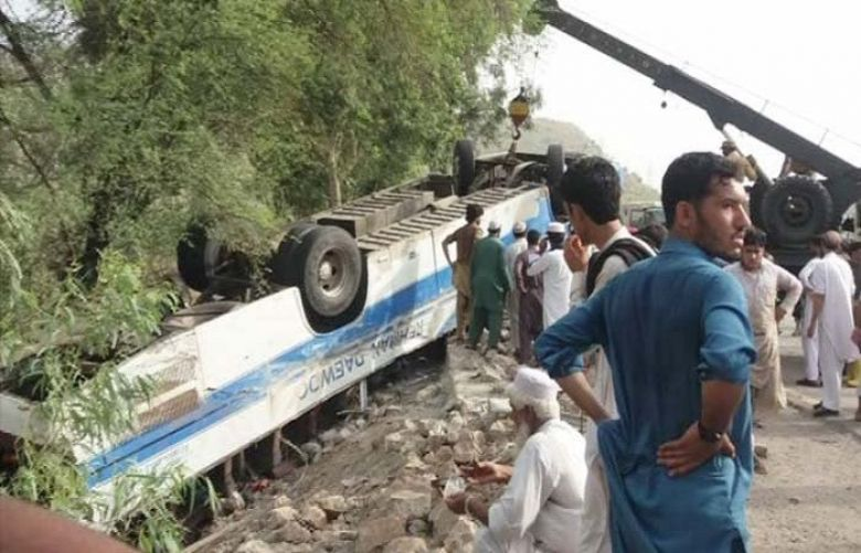 14 killed, 45 injured in Kohat road accident