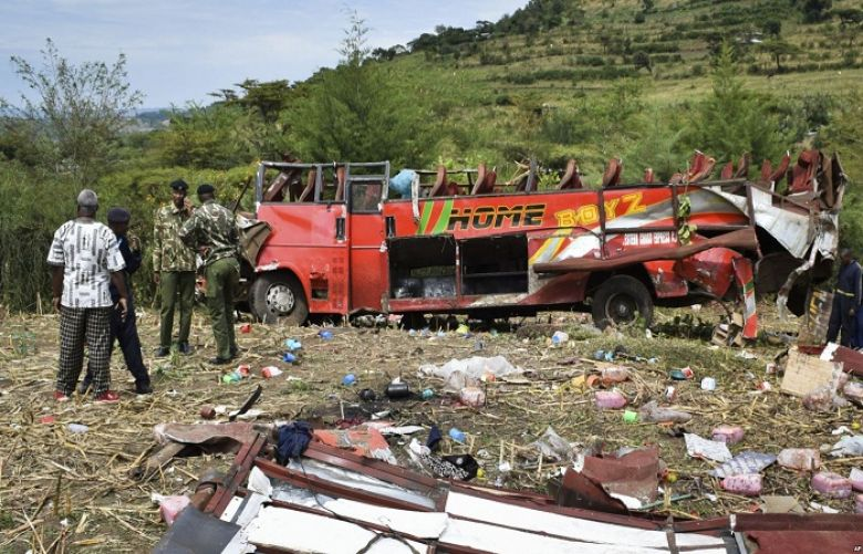 55 People Dead in Overnight Bus Crash in Western Kenya