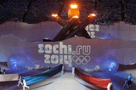 'Hot Cool Yours' Russia unveils Winter Olympics slogan