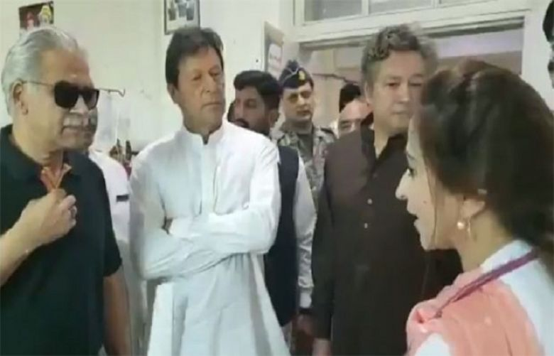 PM Imran Pays Surprise Visit DHQ Hospital In Sargodha