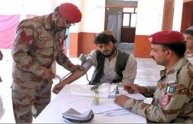 Frontier Corps Balochistan sets up free medical camp in Zhob