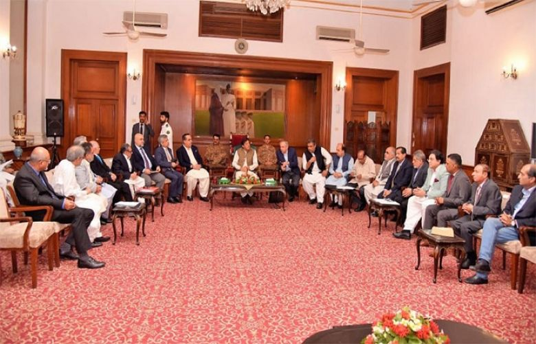 PM Imran seeks cooperation for accomplishing mission of poverty alleviation