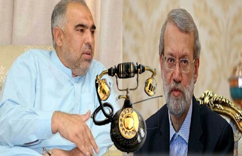 Speaker National Assembly Asad Qaisar has made a telephone call to his Iranian counterpart Ali Larijani