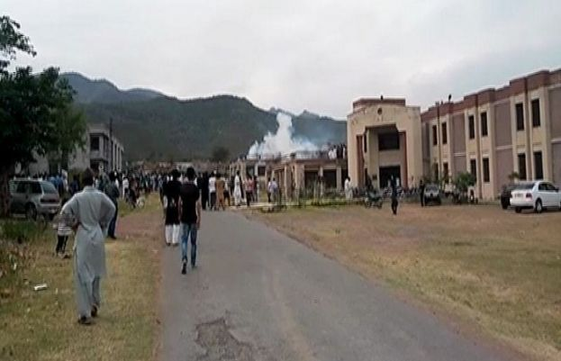 At least 35 students injured in QAU clash