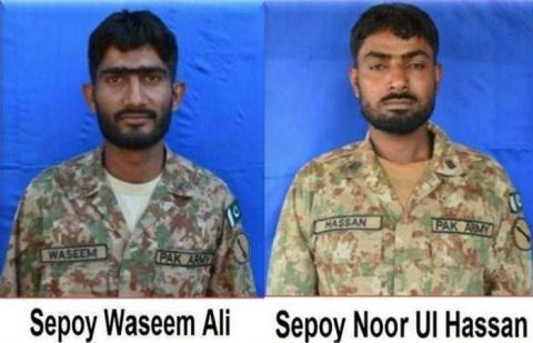 Two Pak Army soldiers martyred in Indian firing across LoC: ISPR