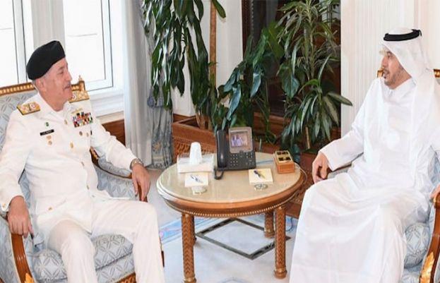 Naval Chief, Qatari PM agrees to promote maritime cooperation