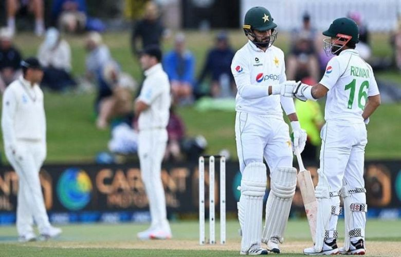 Pakistan out for 239 after Faheem, Rizwan frustrate New Zealand attack