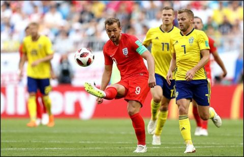 England comfortably defeat Sweden 2-0 in FIFA WC