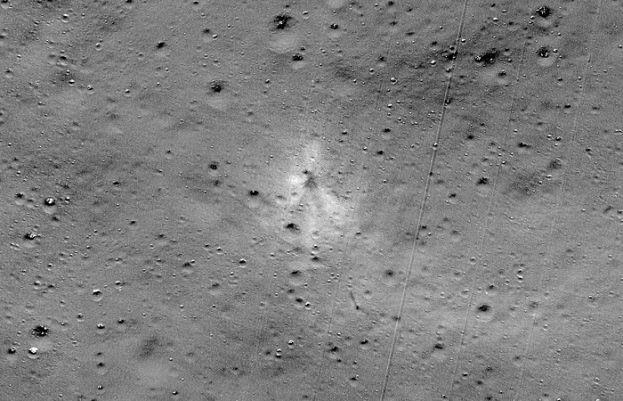 Vikram Lunar Lander found at the moon surface