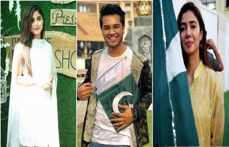 Celebrities pay greetings on Independence Day