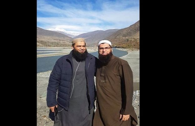 Junaid Jamshed in Chitral,Khyber Pakhtunkhwa with Sohail and Jamaat