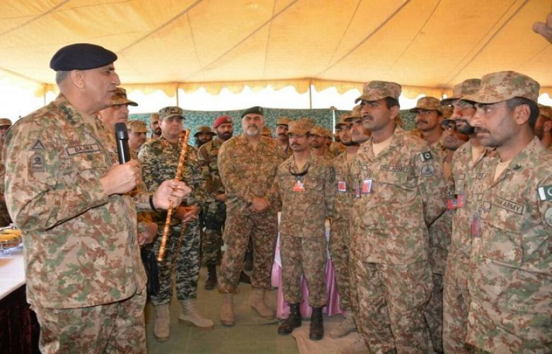 'We are progressing towards enduring peace and stability,' says COAS