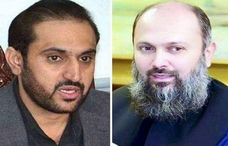 Balochistan Assembly Speaker Abdul Quddus Bizenjo and Chief Minister Jam Kamal Khan
