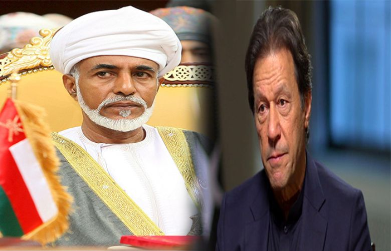 PM Imran expresses deep grief over demise of Oman's Sultan Qaboos