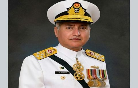 Chief of Naval Staff Admiral Zafar Mahmood Abbasi