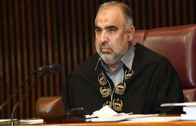 Asad Qaiser to inaugurate 'Common Man's Gallery' in National Assembly hall today