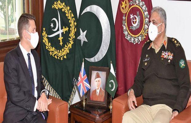 British High Commissioner to Pakistan Christian Turner on Friday called on Chief of Army Staff (COAS) General Qamar Javed Bajwa