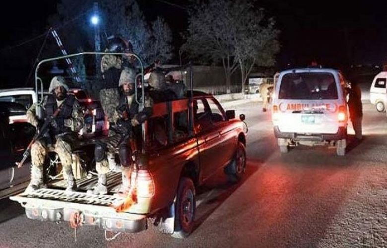 Explosions, firing as terrorists attack FC centre in Quetta