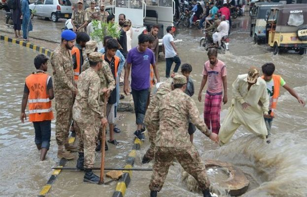 NDMA, Pak Army to assist Sindh in removing encroachments and clearing drains
