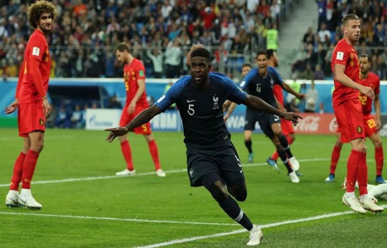 Umtiti heads France into World Cup final as Belgium fall short