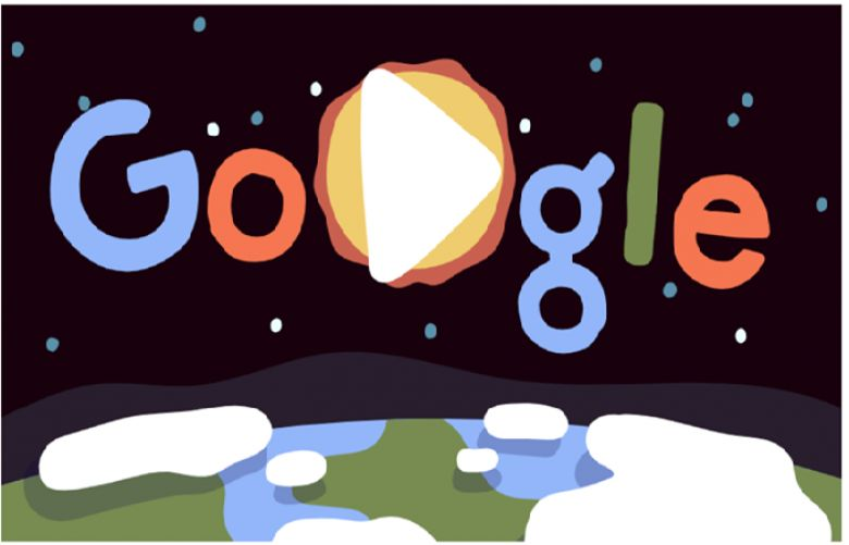 Google's Monday Doodle on Earth Day