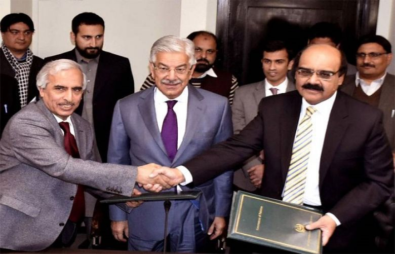 Several countries keen to finance Diamer-Bhasha Dam:  Khawaja Asif