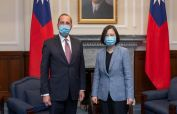 China warns US against 'playing with fire' over Taiwan visit
