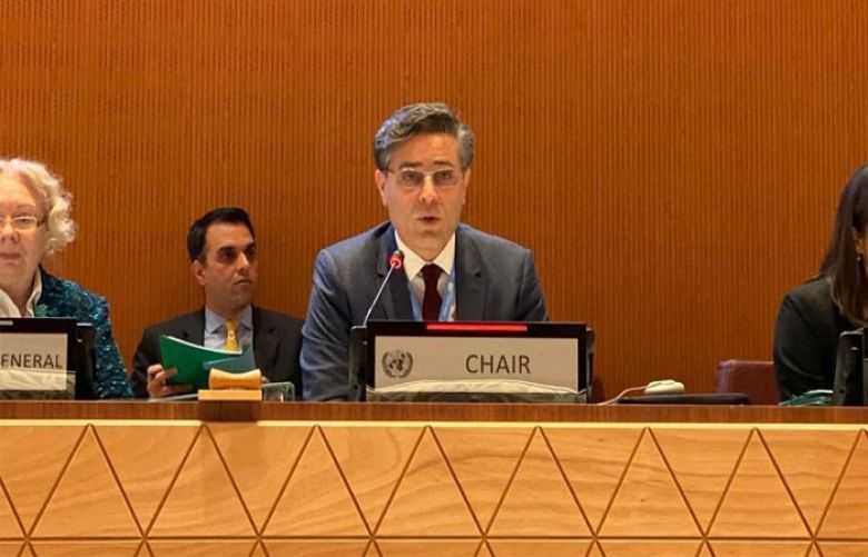 Pakistan elected as Chairperson of UN Convention on Certain Conventional Weapons