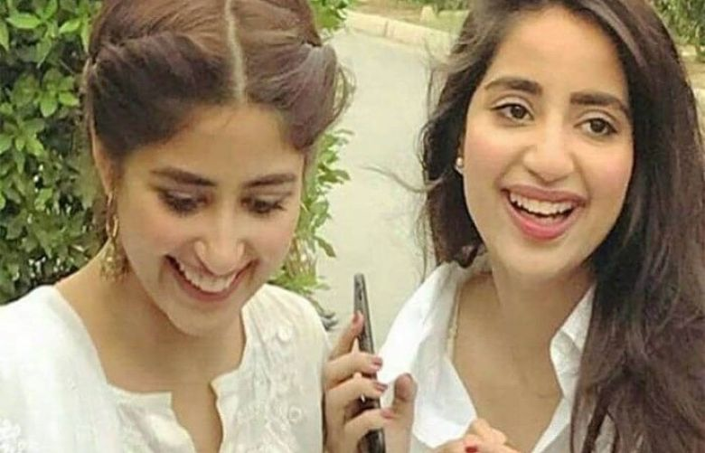 Sajal and Saboor looked stunning in the throwback photos.