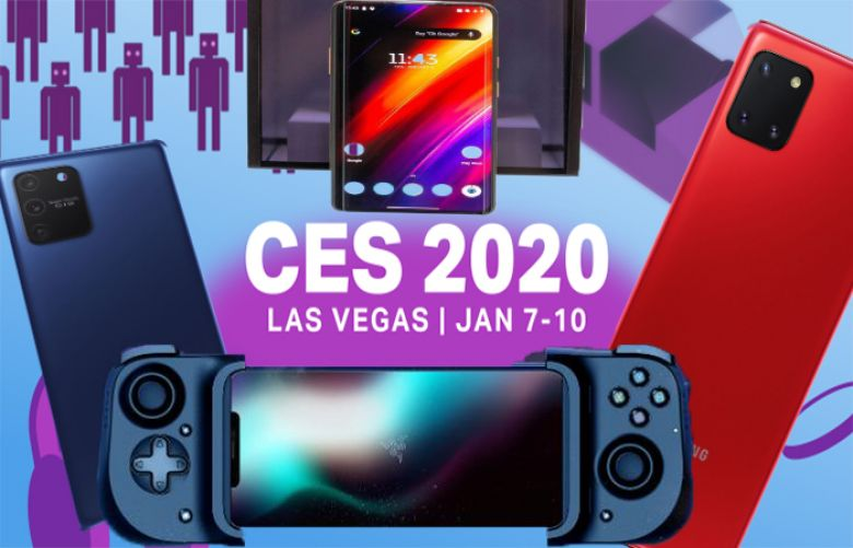 CES launches Top mobile phone trends of 2020