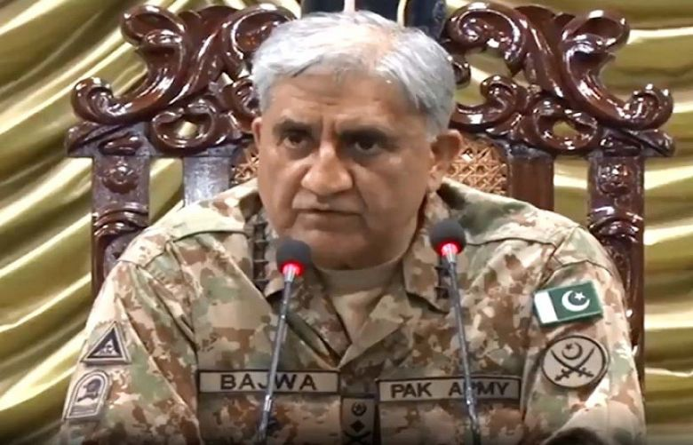 Chief of Army Staff (COAS) General Qamar Javed Bajwa