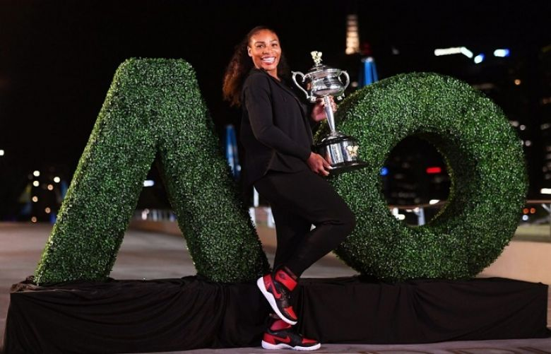 Serena Williams apparently won the Australian Open while pregnant in January.