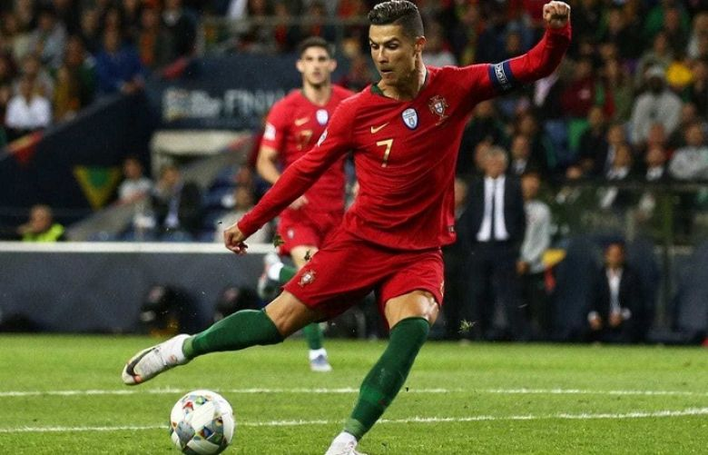 football superstar Cristiano Ronaldo