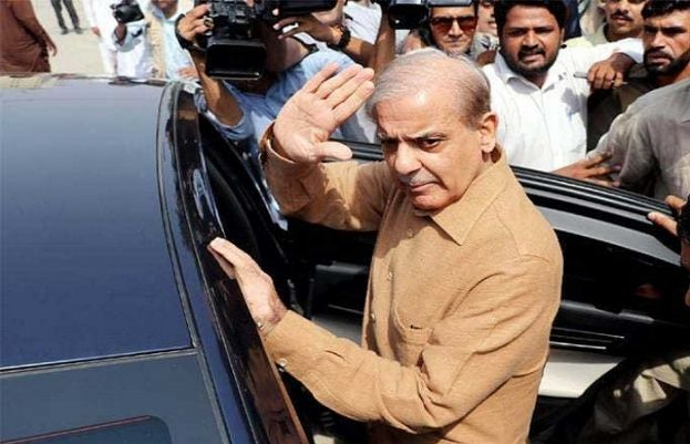 Opposition Leader Shehbaz Sharif