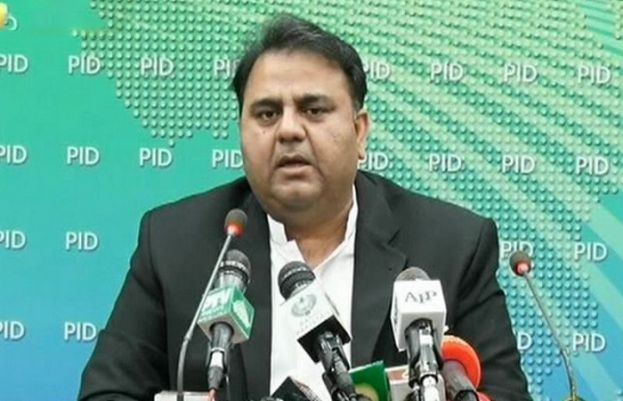 Minister for Information and Broadcasting Fawad Chaudhry