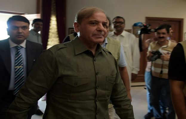Leader of the Opposition in the National Assembly Shehbaz Sharif