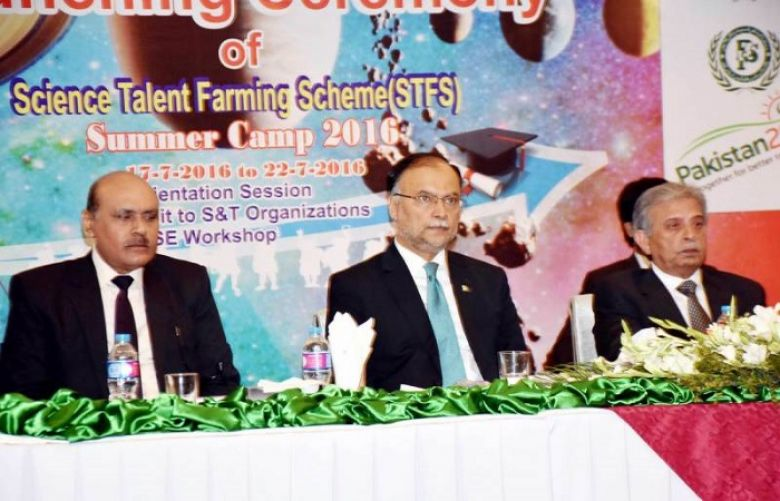 Science Talent Farming Scheme launched in Islamabad