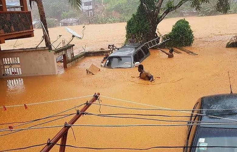 312 dead as mudslides, flooding sweep through Sierra Leone capital