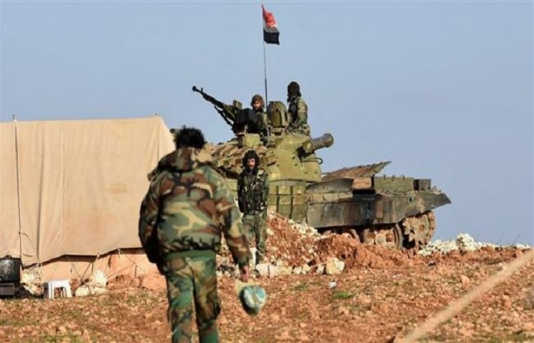 Syrian govt. troops attack terrorists' positions in Idlib, Hama