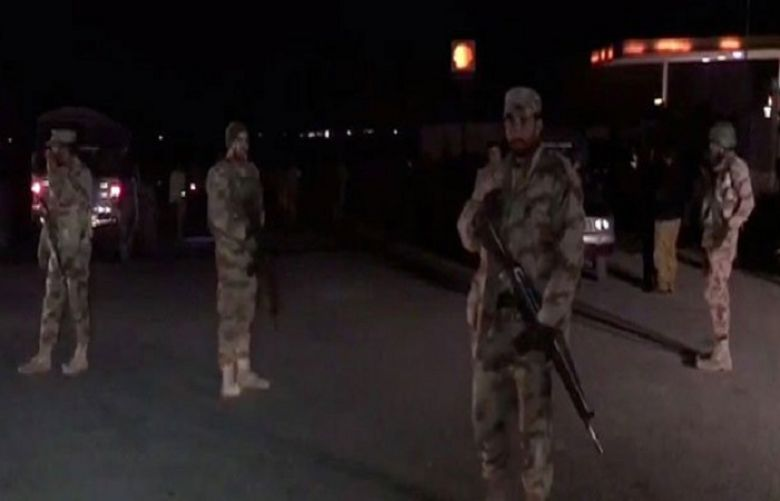 At least four security personnel martyred in Quetta suicide attack