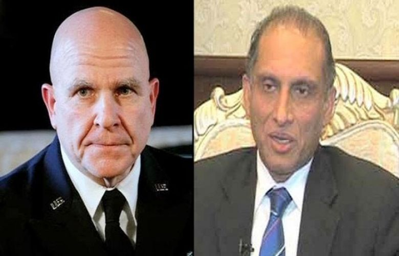 Aizaz Chaudhry calls on US National Security Adviser