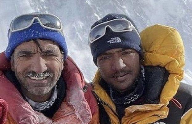 Son of Ali sadpara Sajid summits the mighty K2