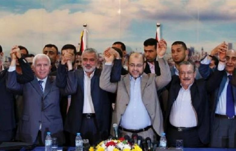 Rival Palestinian factions reach national reconciliation deal in Egypt capital