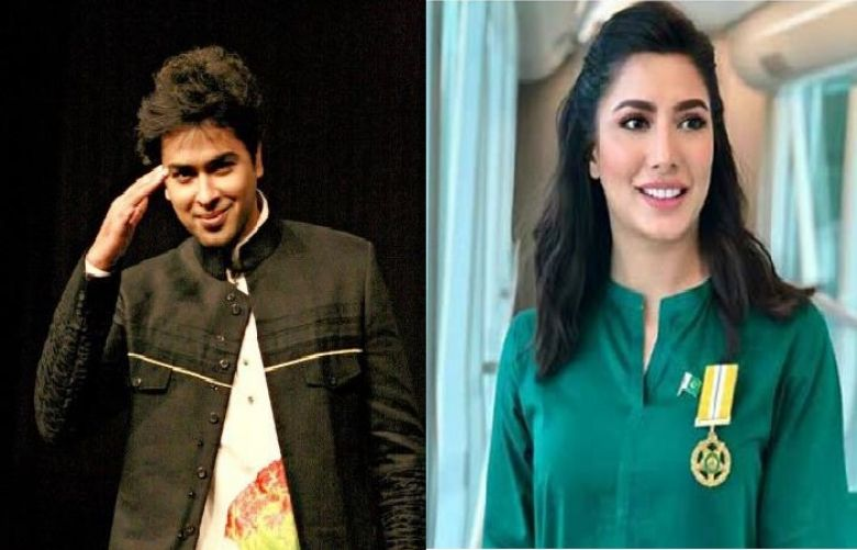 Singer Shehzad Roy and Actress Mehwish Hayat